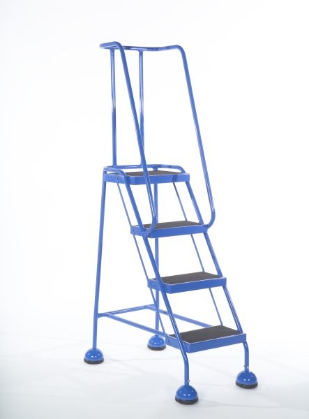 Step Ladder With Wheels