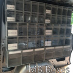 Storage boxes for vans